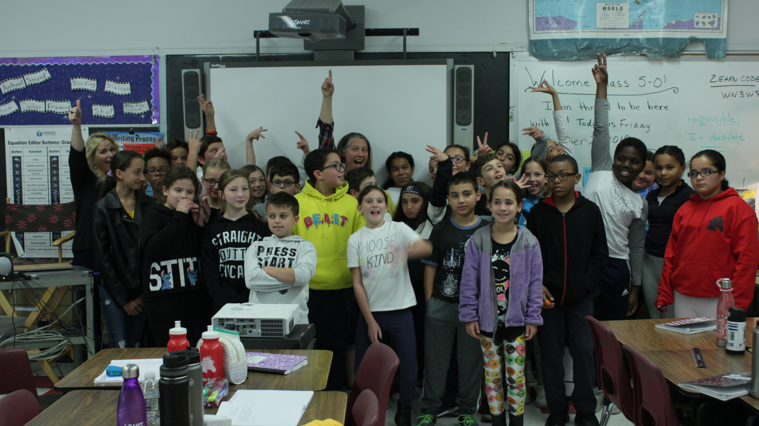 5th Graders, Human Rights, Climate Change, and the Storytellers of Tomorrow