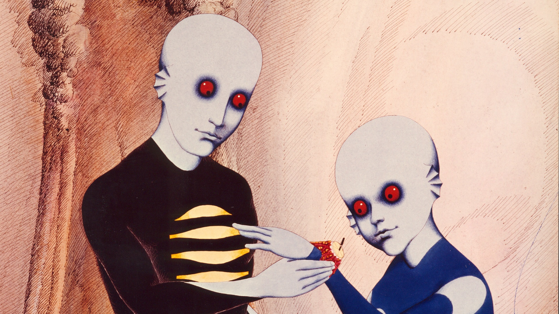 The Surreal Animation of Fantastic Planet