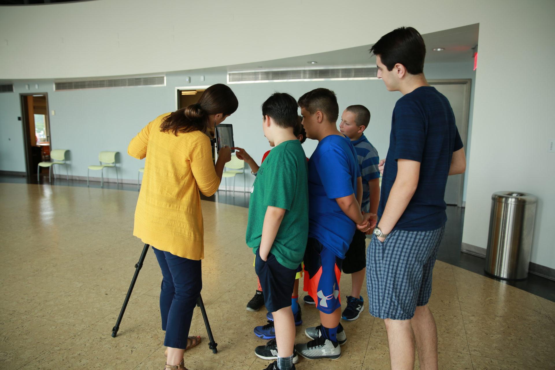 Experiments in Media Workshop, Grades 5-6