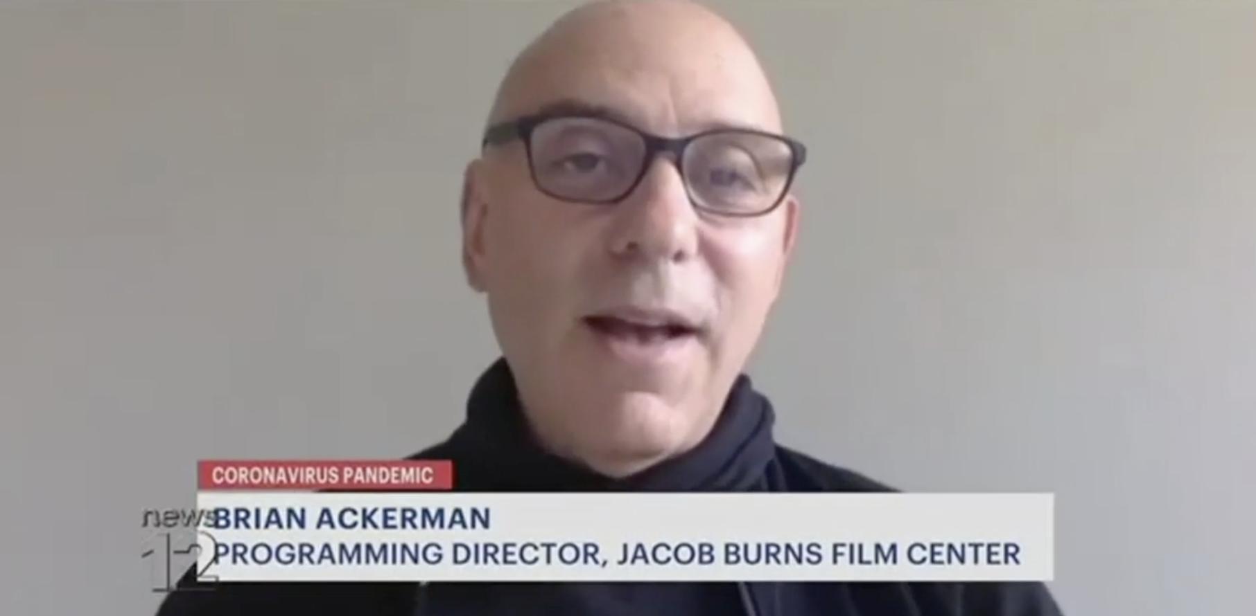 JBFC Founding Director of Film Programming Brian Ackerman on News 12